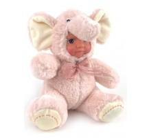 Кукла     Слоник розовый 20 см