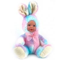 Кукла     Зайка цветной 25 см