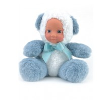 Кукла     Мишка голубой 20 см
