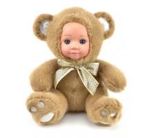 Кукла     Мишка бурый 25 см