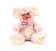 Кукла     Слоник розовый 25 см