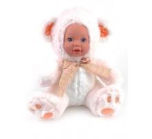 Кукла     Мишка белый 25 см