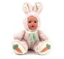 Кукла     Зайка розовый 20 см