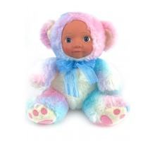 Кукла     Мишка цветной 20 см