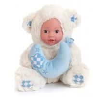 Кукла  Anna De Wailly  Медвежонок с шарфиком 25см