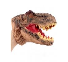 Игрушка-фигурка    , динозавр тираннозавр, бибабо