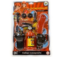 Игровой набор  Пожарный  комплект №3