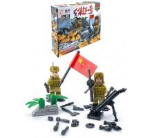 Конструктор   Brick Battle , солдат минометчик