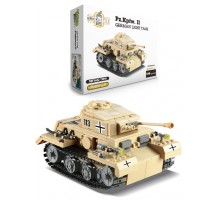 Конструктор   Brick Battle , легкий танк PzKpfw II