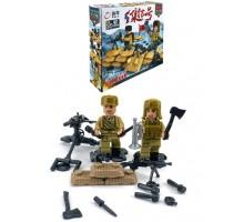 Конструктор   Brick Battle , солдат пулеметчик 1