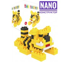 Nano Конструктор  Животные  тигр