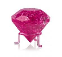 3D Crystal Puzzle Кристал L розовый