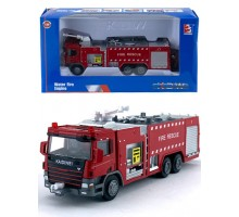 Машинка     коллекционная, спецтехника - пожарная машина M
