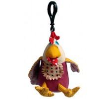 Игрушка Deglingos Курочка Chikos - брелок