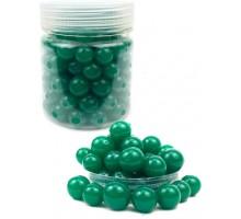 Гидрогелевые шарики L, в банке, зеленые