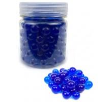 Гидрогелевые шарики L, в банке, синие
