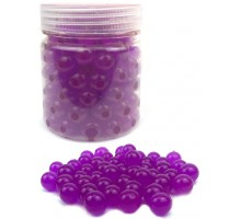 Гидрогелевые шарики L, в банке, розовые