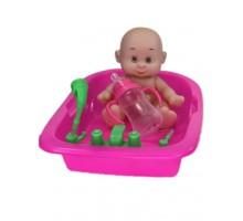 Пупс  Anna De Wailly  с ванночкой