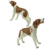 Игрушка-фигурка    ,  щенок гончей L, коричневый