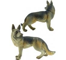 Игрушка-фигурка    ,  щенок немецкой овчарки L