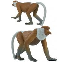Игрушка-фигурка    ,  обезьяна носач L