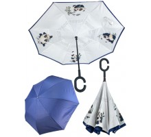 Зонт  Животные  Панда, белый