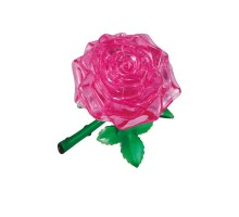 Роза  3d пазл